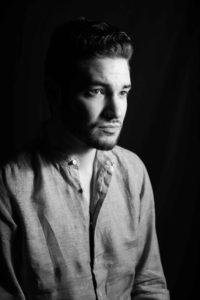 portrait en noir et blanc d un homme