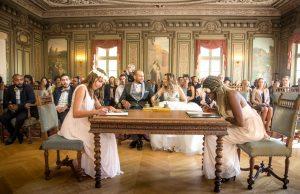 Photographe de mariage à courbevoie mairie