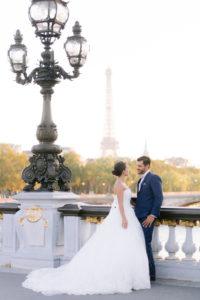 mariés sur le pont alexandre 3